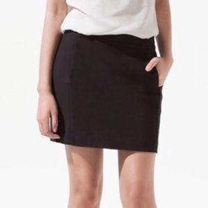 💕🌵LOFT Basic Black Mini Skirt Size 2